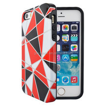 2 Pieces Hard Case and Cover for iPhone 6 with PC and TPU