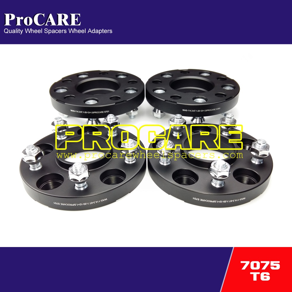 20mm pcd 5x114.3 cnc alloy wheel spacer for mazda RX8