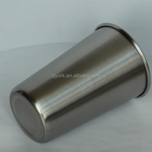 Customized <strong>cup</strong> 18/8 single wall stainless steel beer mug