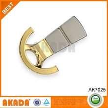 Eco-Friendly Glod Plated Zamak Door Hook