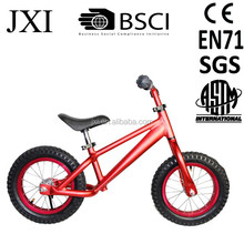 2015 popular red light weight mountain bike design kids pushing children walking bike