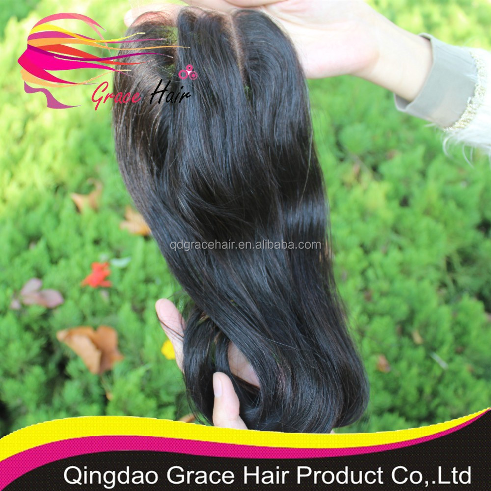 stock lace closure piece cheap virgin human hair with closure