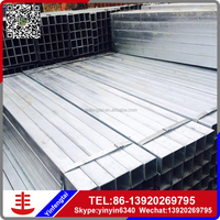 2016 The best selling products astm square steel pipe made in china