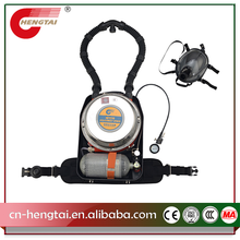RHZYC240 coal mine self rescuer Isolated Positive Pressure portable Respirator with full face mask