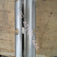 Hot dipped galvanized metal plant stakes