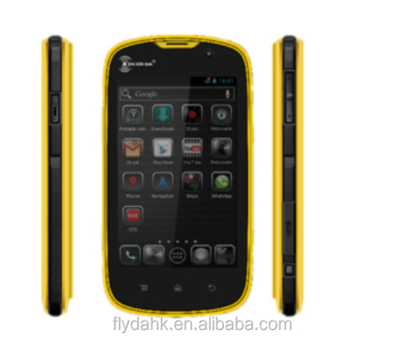 Kenxinda W5 android 5.1 Ip68 Rugged Quad Core Waterproof Shockproof Mobile Phone 4.0 Inch 4g Lte rugged smart mobile phone.