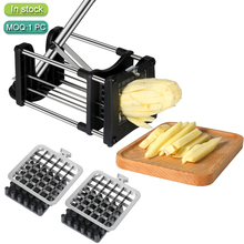 One Step Natural French Fry Cutter Vegetable Fruit Slicer Potato-perfect Fries