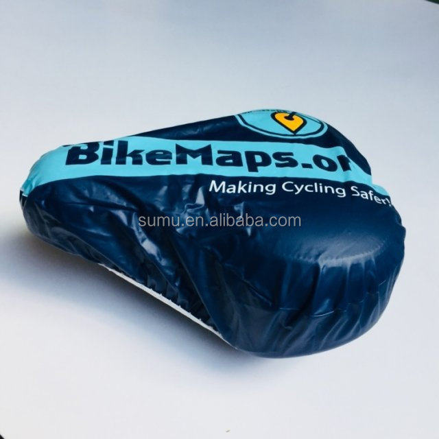High Quality Polyester Custom Gel Bicycle Seat Cover