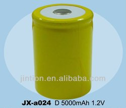 1.2V 5000mAh D ni-cd battery