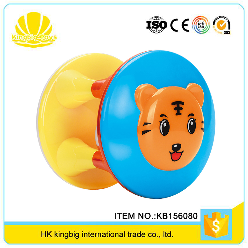 wholesale baby happy growth funny bell plastic puzzle ball for hot selling