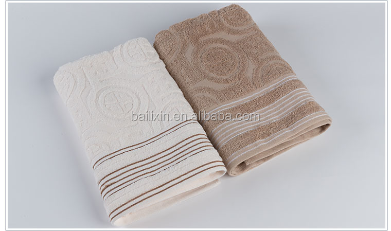 70*140cm high quality luxury bath towel for hotel bathroom