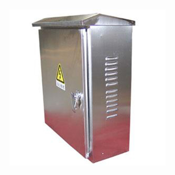 SUS304 outdoor <strong>electricity</strong> cabinet wall mounted with rain cap