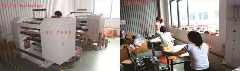 heat transfer film for plastic pail