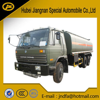 Dongfeng 6x4 oil tank bowser truck for sale