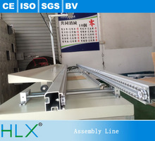 Semi Automatic PCB CFL Insertion Line with Wave Soldering Oven