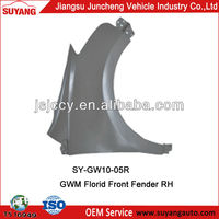 OEM Car Body Parts Front Wings For Great Wall Motor Florid