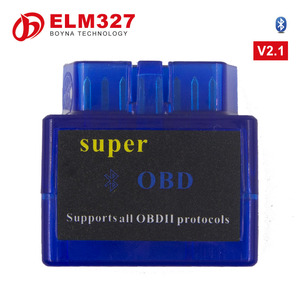 Super Mini V2.1 ELM327 ELM 327 OBD II 2 OBD2 Bluetooth Protocols Universal Auto Diagnostic Scanner Tool Car Scan Tester