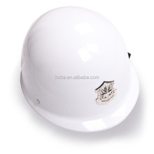 white/black ABS safety police duty helmet 270*230*170mm