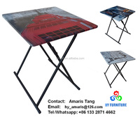 Zhangzhou folding wooden tea tables design furniture supplier