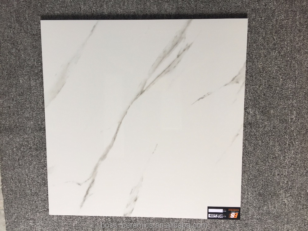 Cheap price 600X600mm White Polished kitchen granite porcelain tiles