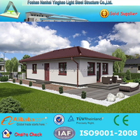Prefabricated steel grill design house