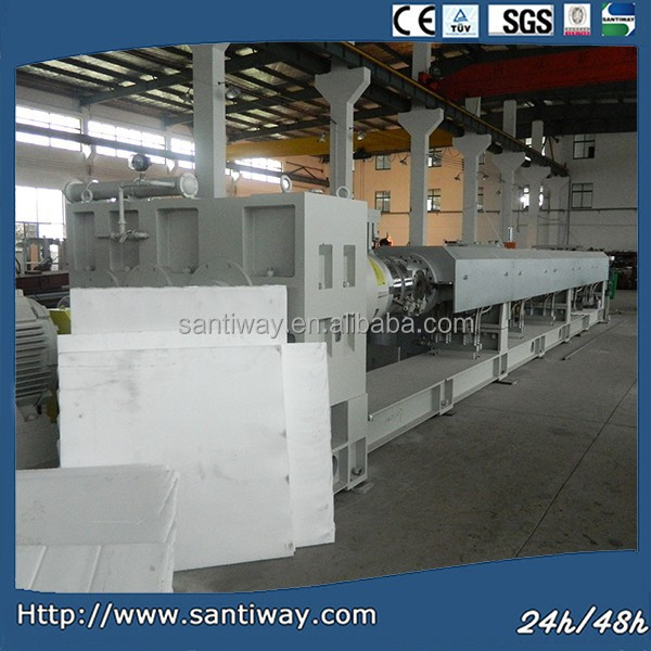 double screw plastic extruder machine