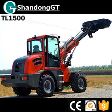 GT 1 ton and 2 ton mini telescopic wheel loader