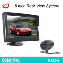 5'' monitor night vision car camera system/auto camera rear view system