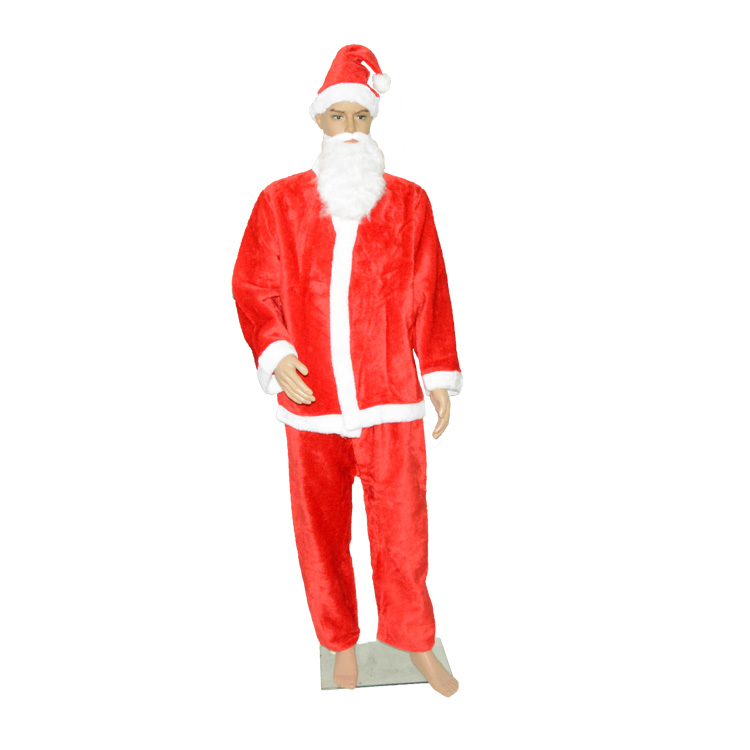 christmas costumes adult Santa Claus Costume for Hot Sale