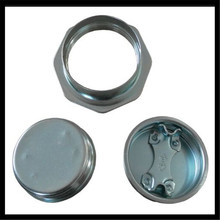 "Lacquer Coating 2"" and 3/4"" Cap Seals for oil drum"