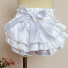 New product attractive style baby bloomer chiffon diaper cover with fast delivery