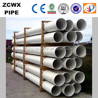 manufacture 400mm pvc water pipes