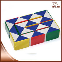 Kits play games long magic cube intellengence rectangle ruler cube, folding magic cube puzzle kids Educational tools