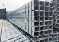 Galvanized hollow pipe /GI tube/HDG pipe for construction /building