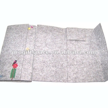 Decorating Fabric Scrapbook Cover