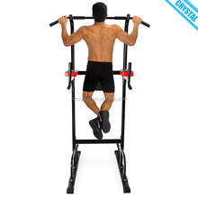 SJ-700 Multi functional gym body trainer dip station push up pull up bar