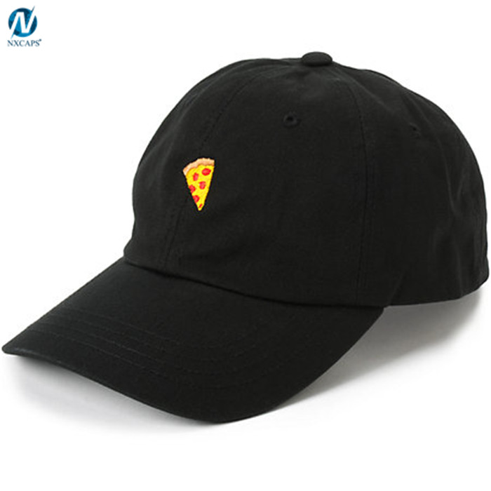 Fashion dad hat custom embroidery ,customized logo dad hat with adjustable leather strap