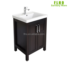 Counter single bowl cabinet wash hand basin