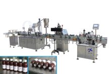 XT-SH-CT automatic production machine bottle liquid detergent filling capping labeling line