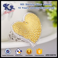 Selling well heart ring alibaba express jewelry
