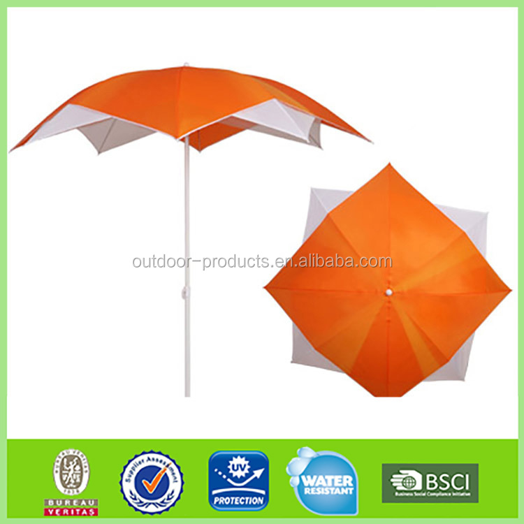 2016 Newest 10 Years Experience double layer lotus Beach Umbrella