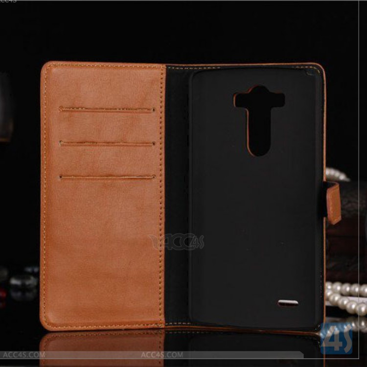 For LG G3 Luxury Premium Flip high quality Leather Wallet Case