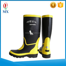 Fire Fighting Fireman Boots/Military Waterproof Safety Fire Boots For Mens