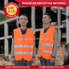 Outdoor reflective working safety vest for gardner,construction