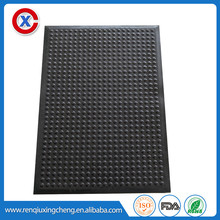 2017 hot sell color rubber mat anti slip playground mats