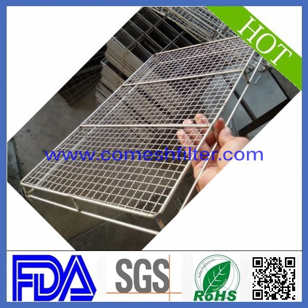 Cooking tools stainless steel large tray baskets