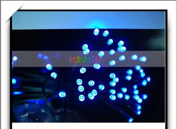 Hot!!! Solar String Fairy Lights Xmas Outdoor Party 60 LED 10M-J01723