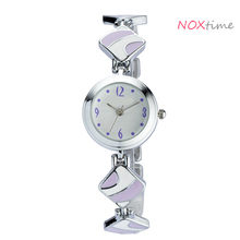 lilac bracelet white dial watches women fashion jewelry wrist watch for ladies charm design