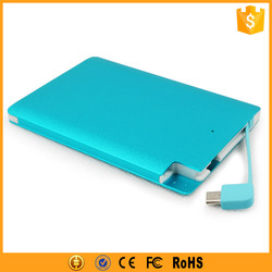 Cheap Small Size Mobile Power Bank Backup Battery for Mobile Phone