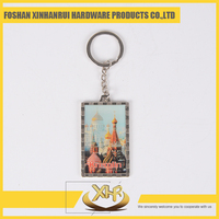 Nickel Custom China made pictures metal Keychains